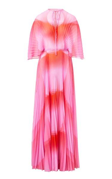 The Venus Silk Maxi Dress