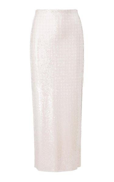 The Liquid Sequin Pencil Skirt