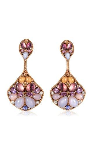 18K Rose Gold Blossom Earrings