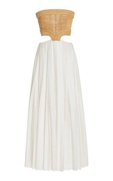 Kai Raffia Maxi Dress