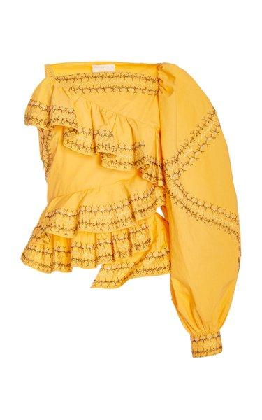 Arjun Asymmetrical Cotton Top