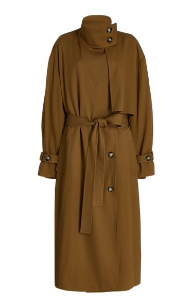 Twill Duster Trench Coat