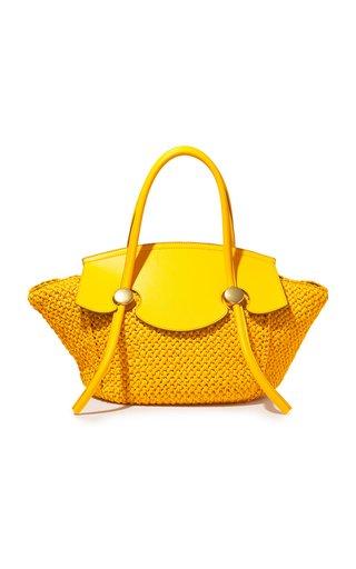 Small Raffia Pipe Bag