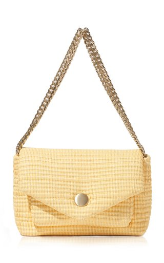 Small Raffia PS Harris Bag