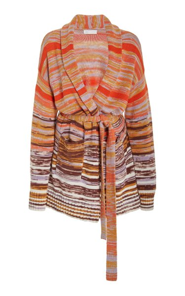 Estrella Space Dye Cotton-Wool Cardigan