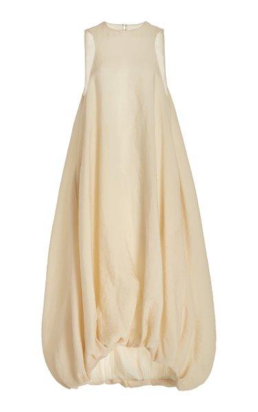 Winifred Silk-Blend Midi Dress