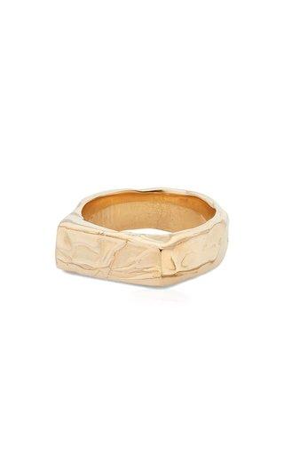 Cogency 14K Yellow Gold Signet Ring