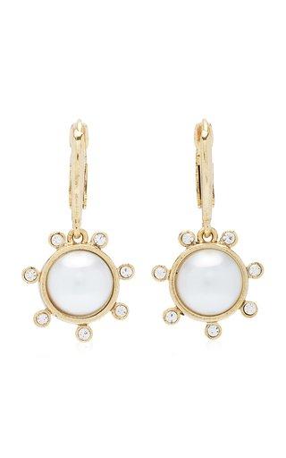 14K Gold-Plated Dot Drop Earrings