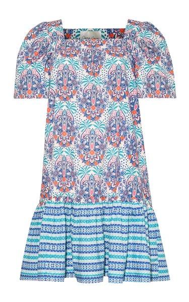 Janie Cotton Poplin Mini Dress
