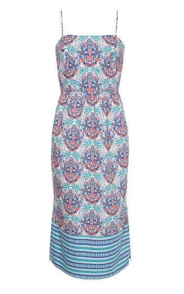 Kenzie Cotton Poplin Midi Dress