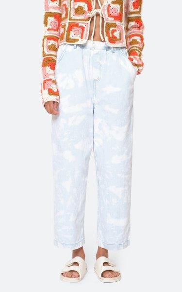 Daryl Bleached Denim Pants