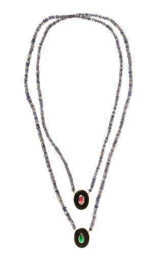 Australis 18K Yellow Gold Multi-Stone Necklace