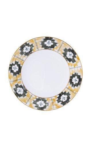 Painted Porcelain Presentation Plate