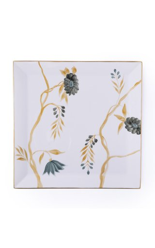 Painted Porcelain Serving Tray