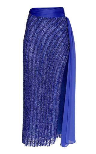 Sequined Midi Skirt