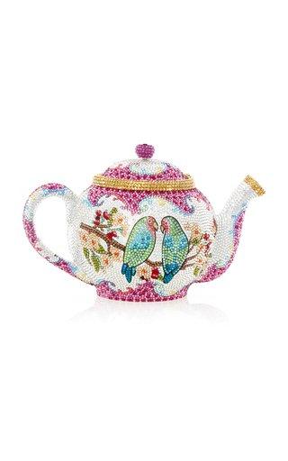 Morning Tea Crystal Novelty Clutch