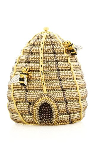 Beehive Crystal Novelty Clutch