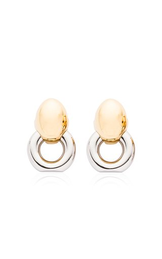 Layla Medium Gold and Silver-Plated Earrings