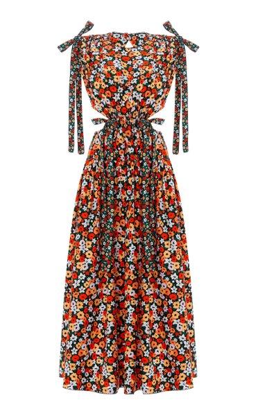 Guaguancó La Fania Cotton Midi Dress