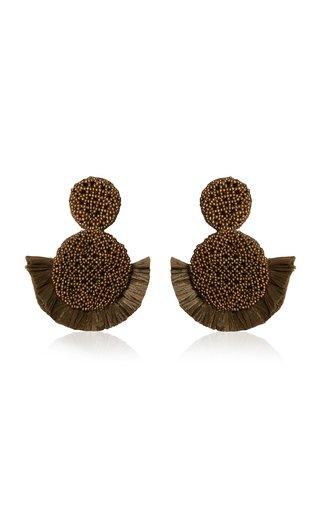 Raffia Nocturno de Tango Earrings