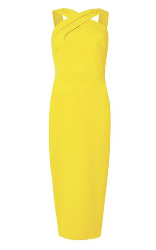 Demi Crepe Midi Dress