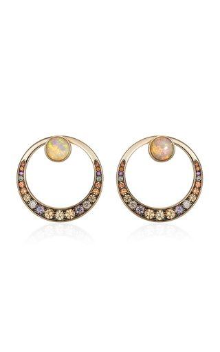18K Yellow Gold  Svadhisthana Earrings
