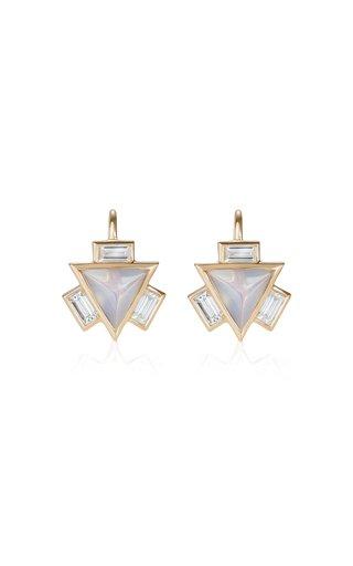 18K Yellow Gold  Manipura Earrings