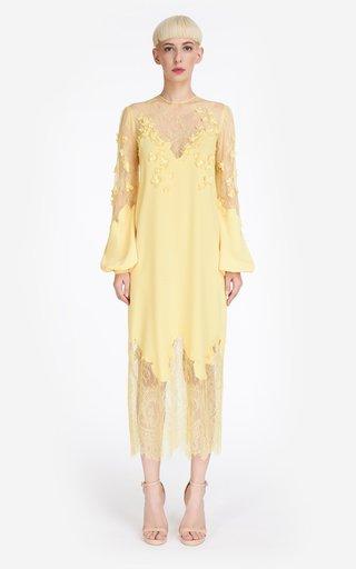 Crystalie Crepe Midi Dress