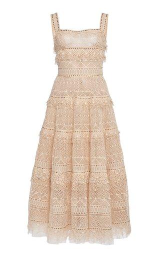 Macrame Midi Dress