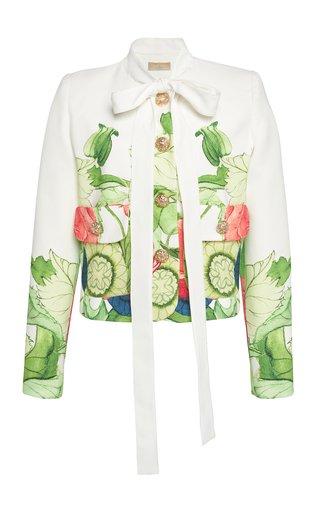 Printed Cady Jacket