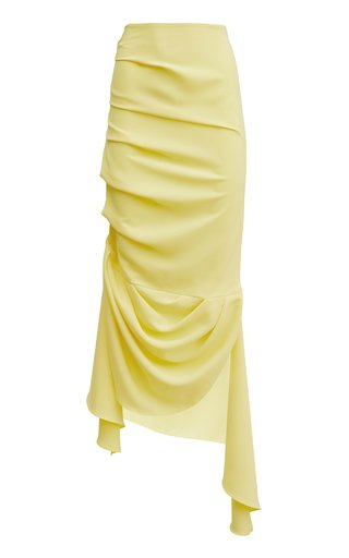 Asymmetric Midi Skirt