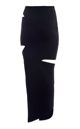 Cutout Midi Skirt