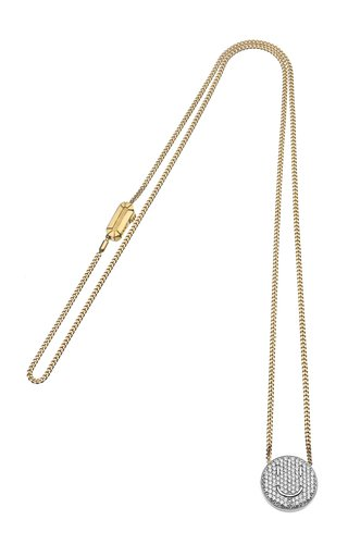 18K Yellow Gold Smile Necklace