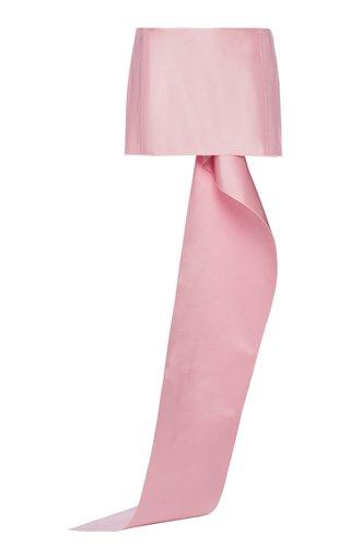 Silk Satin Mini Skirt