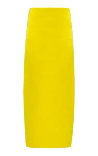 Silk Satin Maxi Skirt