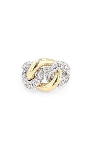 14K Yellow Gold Mariner's Knot Ring