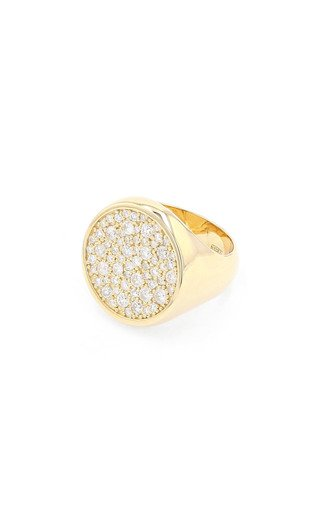 14K Yellow Gold Cobblestone Ring